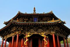 palais de dynastie de dazheng qing Photographie stock