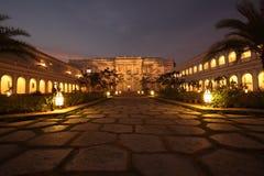 Palais de Falaknuma, Hyderabad Images stock