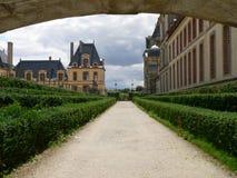 Palais de Fontainebleau (Франция) стоковые изображения