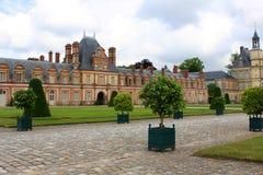 Palais de Fontainebleau Photo libre de droits
