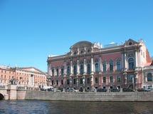 Palais de Fontanka de fleuve de Beloselsky-Belozersky Images stock