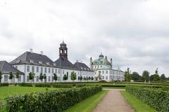 Palais de Fredensborg au Danemark image stock