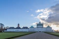 Palais de Fredensborg au Danemark images stock
