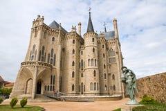 Palais de Gaudi à Astorga Photos libres de droits