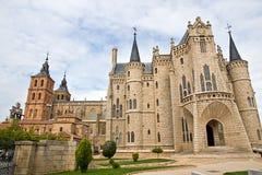 Palais de Gaudi à Astorga Photographie stock