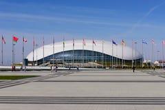 Palais de glace Images libres de droits