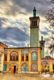 Palais de Golestan, un site d'héritage de l'UNESCO à Téhéran photographie stock
