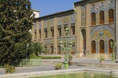 Palais de Golestan, un site d'héritage de l'UNESCO à Téhéran, Iran photos libres de droits