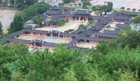Palais de Gyeongbokgung à Séoul Images libres de droits