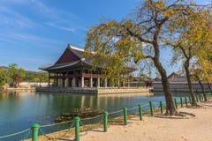 Palais de Gyeongbokgung à Séoul, Corée du Sud Photo libre de droits