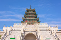 Palais de Gyeongbokgung à Séoul, Corée du Sud Photos libres de droits