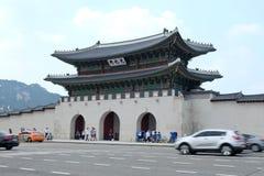 Palais de Gyeongbokgung, SÉOUL, CORÉE DU SUD Image libre de droits
