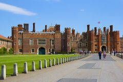 Palais de Hampton Court Photographie stock