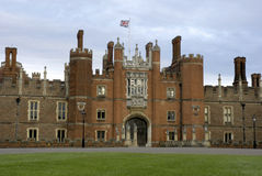 Palais de Hampton Court Photographie stock libre de droits