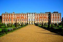 Palais de Hampton Court Photos libres de droits