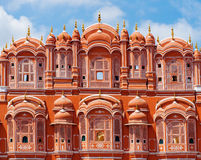Palais de Hawa Mahal à Jaipur, Ràjasthàn Photographie stock libre de droits