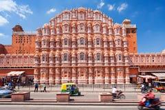 Palais de Hawa Mahal, Jaipur images libres de droits