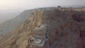 Palais de Herods du bourdon, ruines des niveaux de palais photographie stock libre de droits