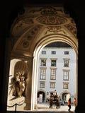 Palais de Hofburg, Vienne Photos libres de droits