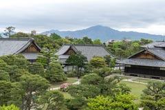 Palais de Honmaru Photos stock
