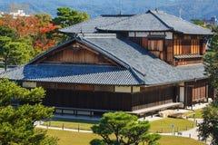 Palais de Honmaru au château de Nijo à Kyoto Image libre de droits
