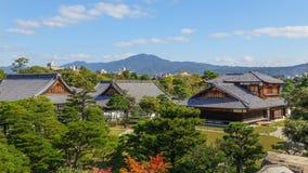 Palais de Honmaru au château de Nijo à Kyoto Photo libre de droits