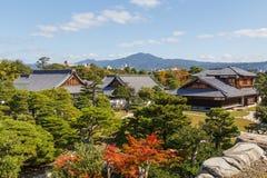 Palais de Honmaru au château de Nijo à Kyoto Image stock