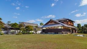 Palais de Honmaru au château de Nijo à Kyoto Photographie stock libre de droits