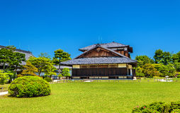 Palais de Honmaru au château de Nijo à Kyoto Photos stock