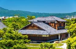 Palais de Honmaru au château de Nijo à Kyoto Photo stock