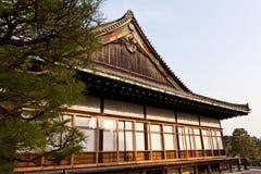 Palais de Honmaru, château de Nijo Image stock