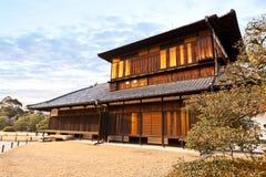 Palais de Honmaru, château de Nijo Images stock