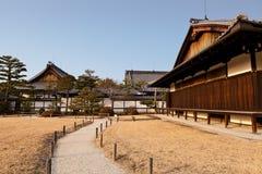 Palais de Honmaru, château de Nijo Photographie stock