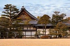 Palais de Honmaru, château de Nijo Image libre de droits