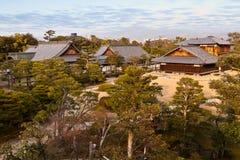 Palais de Honmaru, château de Nijo Photographie stock libre de droits