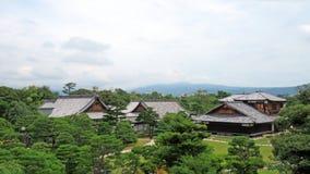 Palais de Honmaru dans le château de Nijo à Kyoto Image stock