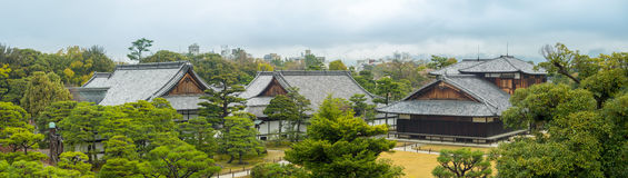 Palais de Honmaru dans le château de Nijo à Kyoto, Japon Images libres de droits
