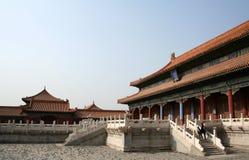 Palais de HuangJi Image stock