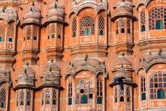 Palais de Jaipur des vents photos stock