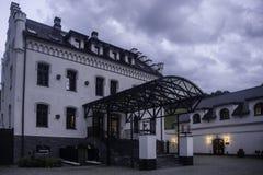 Palais de Jugowice en Pologne Image libre de droits