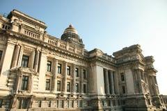 Palais de Justice布鲁塞尔 库存照片