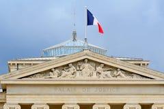 Palais de Justice, Μασσαλία, Γαλλία Στοκ φωτογραφίες με δικαίωμα ελεύθερης χρήσης
