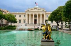Palais de Justice, Μασσαλία, Γαλλία Στοκ εικόνα με δικαίωμα ελεύθερης χρήσης