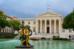 Palais de Justice, Μασσαλία, Γαλλία Στοκ Φωτογραφία