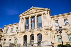 Palais de Justice, Νίκαια, Γαλλία Στοκ Εικόνες