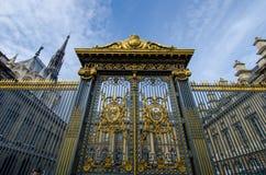 Palais de Justice στο Παρίσι, Γαλλία Στοκ φωτογραφία με δικαίωμα ελεύθερης χρήσης
