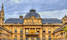 Palais de Justice στο Παρίσι, Γαλλία Στοκ εικόνες με δικαίωμα ελεύθερης χρήσης