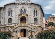 Palais de justice au Monaco photo libre de droits