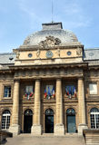 Palais de Justice Building facade, Paris France Royalty Free Stock Images