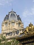 Palais de Justice and Conciergerie Stock Photography